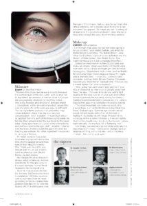 Blepharoplasty Dr Tirbas - Vogue ad pg 2
