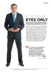 Blepharoplasty Dr Tsirbas - Vogue ad pg 3